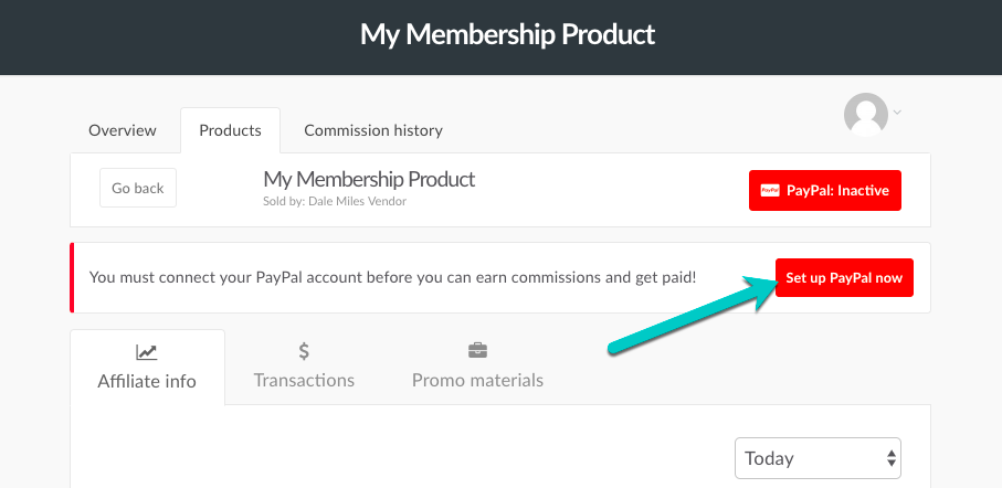 How do affiliates connect their PayPal account? – ThriveCart Helpdesk